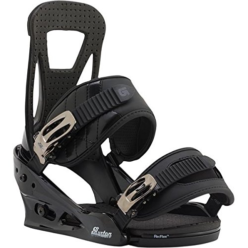 Burton Freestyle Snowboard Bindings Mens Sz M (Black Freestyle Snowboard Binding)