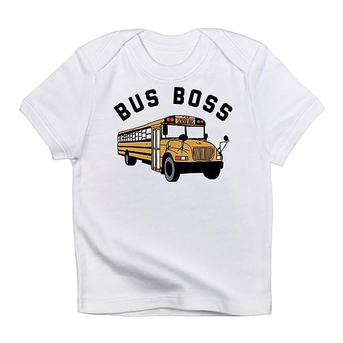 d7634cf1 Amazon.com: CafePress - Buss Boss - Cute Infant T-Shirt, 100% Cotton ...