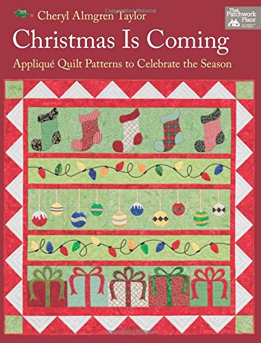 Christmas Coming Applique Patterns Celebrate product image