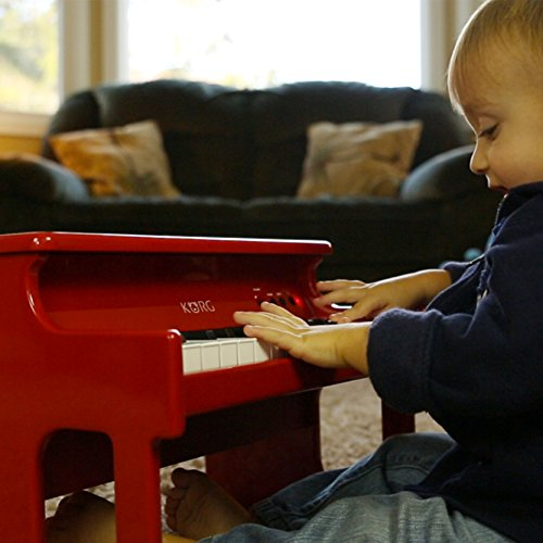 Korg tinyPiano Digital Toy Piano - Red by Korg (Image #11)