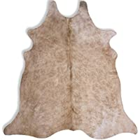 Light Brown Brindle Cowhide Rug - XL