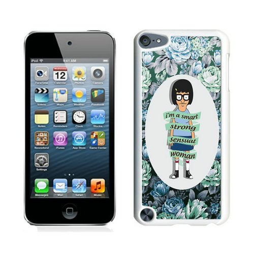 BobS Burgers 10 White Shell Case for iPod Touch 5,Unique Cover