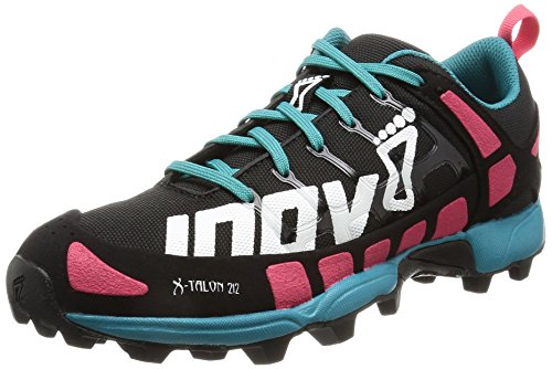 Price comparison product image Inov-8 Women's X-Talon 212 Trail Runner,  Black / Pink / Teal,  8.5 C US