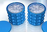 New Ice Cube Maker Genie -The Revolutionary Space Saving Ice Cube Maker- Ice Genie Kitchen Tools