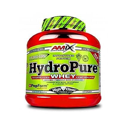 Amix High Class HydroPure Whey - 1600gr aislado de proteína de suero de leche hidrolizado milk