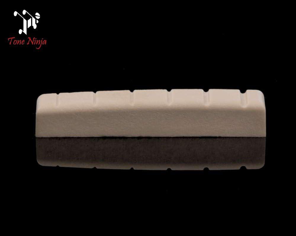 Nut White Tone Ninja USA Made Slotted 43mm e.g. PRS SE