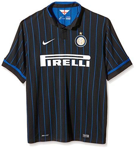 Nike INTER SS HOME STADIUM JSY Mens Soccer Shirt 611062-011_L (Milan Nike Club Inter)