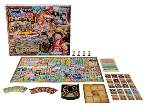 One Piece board game Dream sea tribe Dan Battle Royale! (japan import) by Bandai