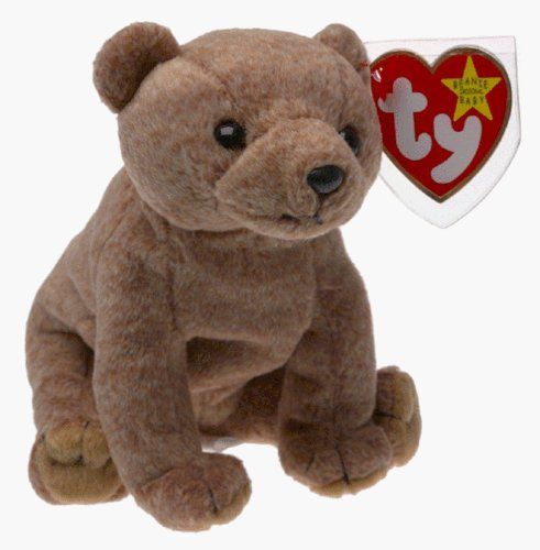 AN THE BEAR Beanbag Plush [Toy] by Ty Beanie Babies (Beanie Babies Bean Bag Plush)