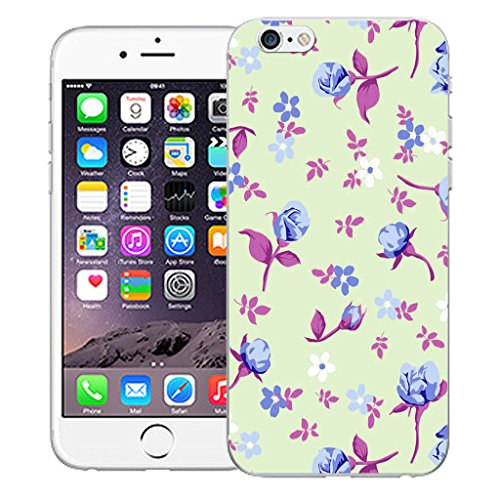 """Mobile Case Mate iPhone 6 4.7"""" Silicone Coque couverture case cover Pare-chocs + STYLET - Corsage pattern (SILICON)"""