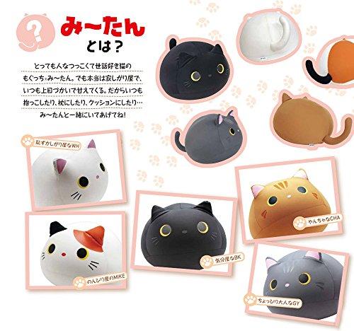 Black Cat Plush Pillow | Mogu Mike Big Eyes Plushie 2