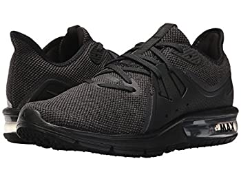 Nike Women Air Max Sequent 3 Running Shoe, Size 10, Blackanthracite 2