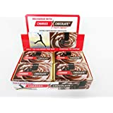 Charged Chocolate MILK 24 Count, Caffeine Infused Energy Bar, Extra Caffeinated Chocolate an Energy Drink Alternative