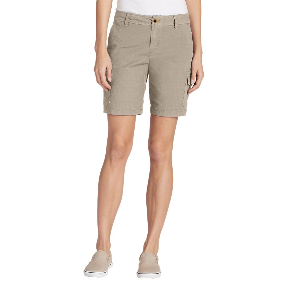 Eddie Bauer Women's Adventurer Stretch Ripstop Cargo Shorts - Slightly Curvy, P