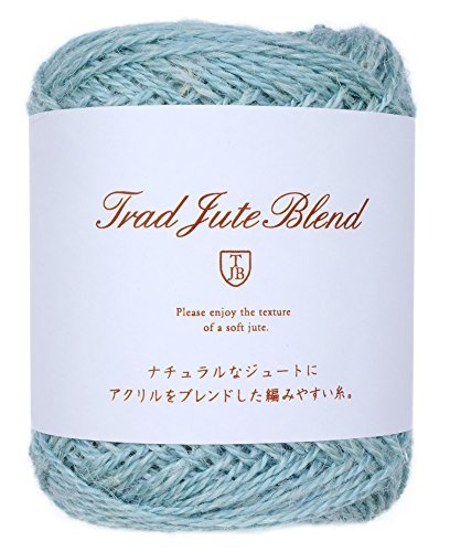 Knitting thread trud jute blend 25 g 62 m Col. 106 6 ball set