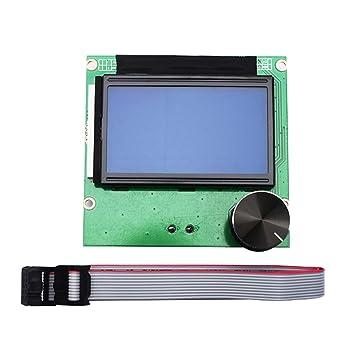 Denret3rgu Impresora 3D de Repuesto 12864 RAMPAS 1.4 ...