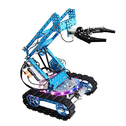 Makeblock DIY Ultimate Robot Kit - Premium Quality - 10-in-1 Robot - STEM Education - Arduino - Scratch 2.0 - Programmable Robot Kit for Kids to Learn Coding, Robotics and Electronics by Makeblock (Image #1)