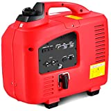 Goplus Gas-Powered Inverter Generator Portable Digital 4 Stroke 53cc Single Cylinder CE, GS, CARB & EPA Compliant (2750W)