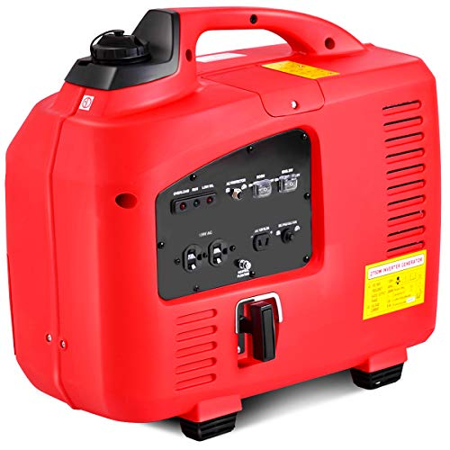Goplus Gas-Powered Inverter Generator Portable Digital 4 Stroke 53cc Single Cylinder CE, GS, CARB & EPA Compliant (2750W) Superbuy