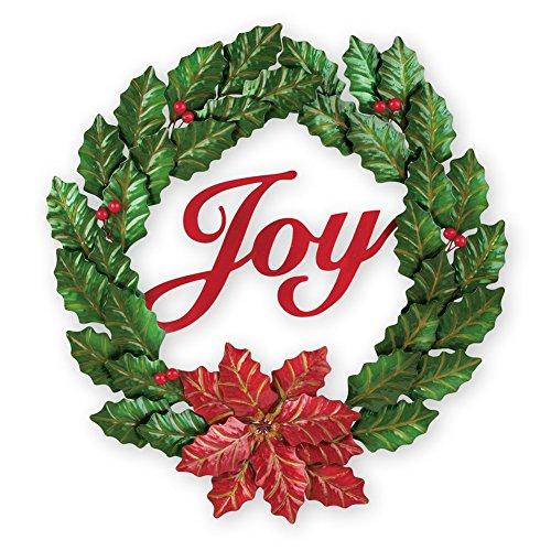 Collections Etc Metal Joy Christmas ()