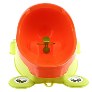 932406f2d07 Amazon.com   Taka Co Toilet Training Baby Babies Boys Potty Toilet Training  Frog Penguin Animal Shape Kids Children Stand Vertical Urinal Infant Penico  ...