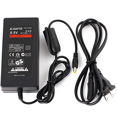 DUMVOIN(TM) NEW DC 8.5V Home Wall Charger Power Supply AC Adapter best replacement for Sony Playstation 2 PS2 70000 Console ()