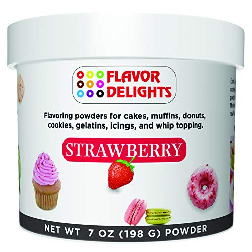 Angel Specialty Products Flavor Delights Flavored Powder Bakery Mix Strawberry ()