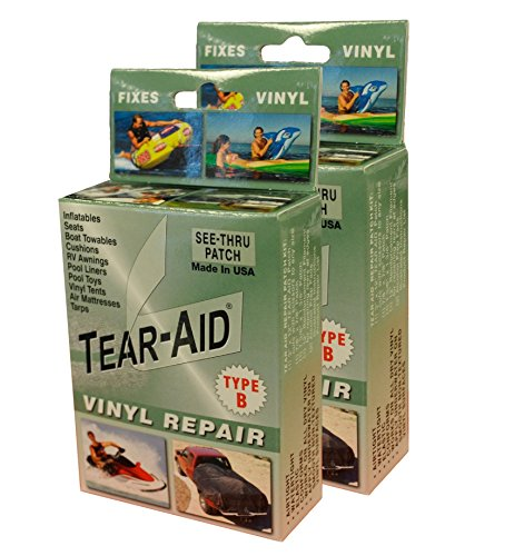 Tear-Aid Vinyl Repair Kit, Green Box Type B (2 pack)