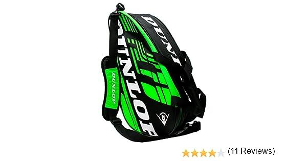 Paletero de pádel Dunlop Play Verde 2016: Amazon.es: Deportes y ...