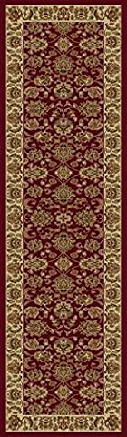 KAS Oriental Rugs Lifestyles Collection Kashan Runner, 2'3