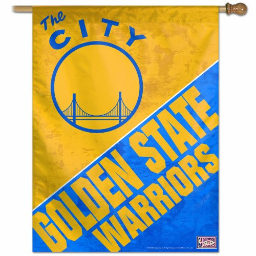 27x37 Vertical Banner - NBA Golden State Warriors 27-by-37 inch Vertical Flag - The City