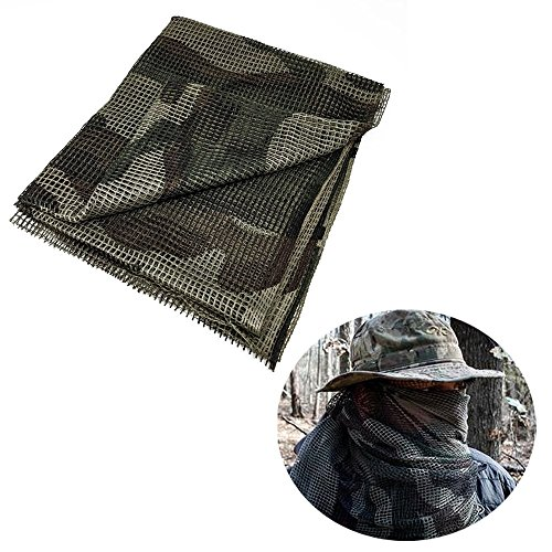 (BATTLBOX Tactical Camouflage Sniper Veil and Scarf)