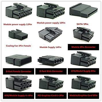 Amazon.com: Conectores de 10 piezas / módulo de ranura ATX ...