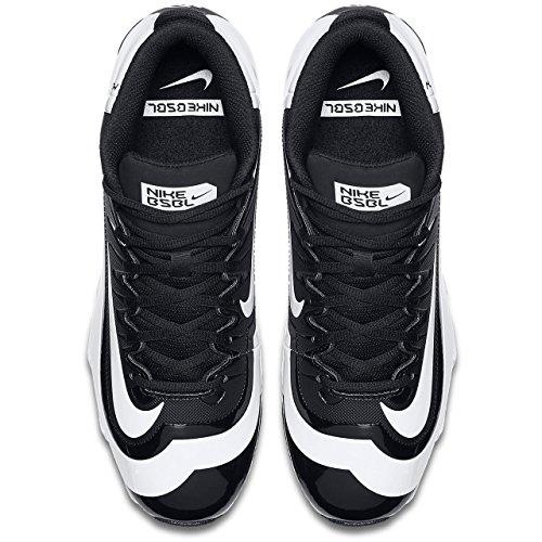 Huarache nbsp;kfilth De black Mid Cornamusa Hombre volt Negro Nike white 2 blanco Keystone Béisbol qCwFWH