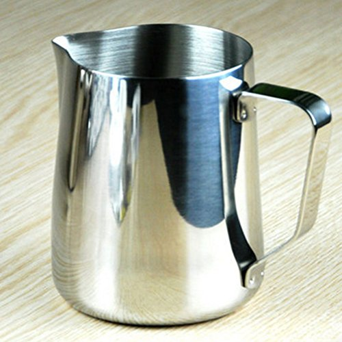 photo Wallpaper of PIXNOR-Pixnor 350ml Stainless Steel Milk Pour Pot-As Shown