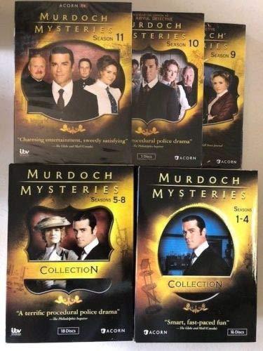 Murdoch Mysteries: Seasons 1-11 DVD The Complete Series