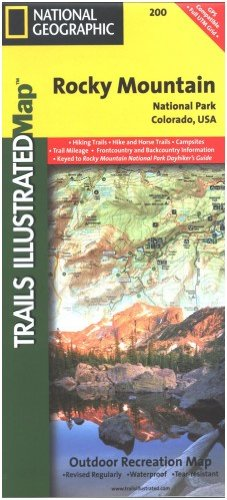 Price comparison product image National Geographic Trails Illustrated Map Rocky Mountain National Park (Nationa