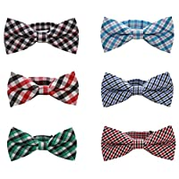 Baby Boys Toddler Bow Tie With Adjustable Neck Strap Kids Bowtie With Gift Bo...