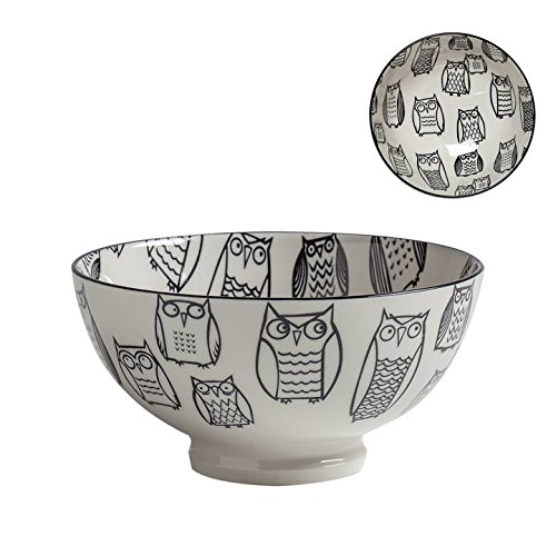 Image of Torre & Tagus Set of 6 Kiri Porcelain 6 Medium Bowls Bowls