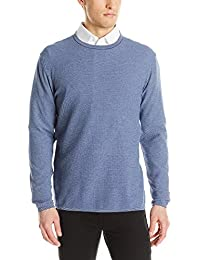 Men's Manta Ray Tonal Birdseye Crew-Neck Sweater