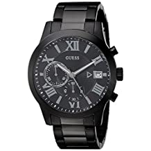 GUESS Men's U0668G5 Black/Gunmetal