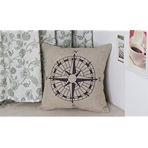 51ajb4AhAvL._SS300_ 100+ Coastal Throw Pillows & Beach Throw Pillows