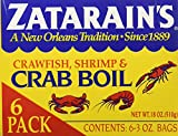 Zatarain's Crab Boil Six 3oz Bags