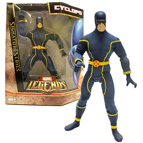 Hasbro Year 2006 Marvel Legends Signature Series 9 Inch Tall Fully Posable Action Figure - CYCLOPS