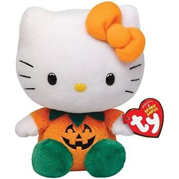 Ty Beanie Babies Hello Kitty - Pumpkin