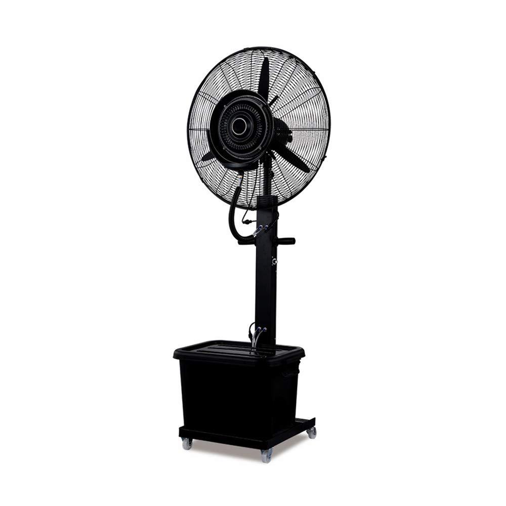 GXYAWPJ 扇風機スプレー床ファン水霧加湿冷却水噴霧化商業サイレントムービングヘッドファン B07TJMHMLS