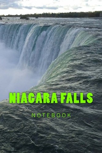 Niagara Falls: 150 page lined notebook por Wild Pages Press Journals & Notebooks