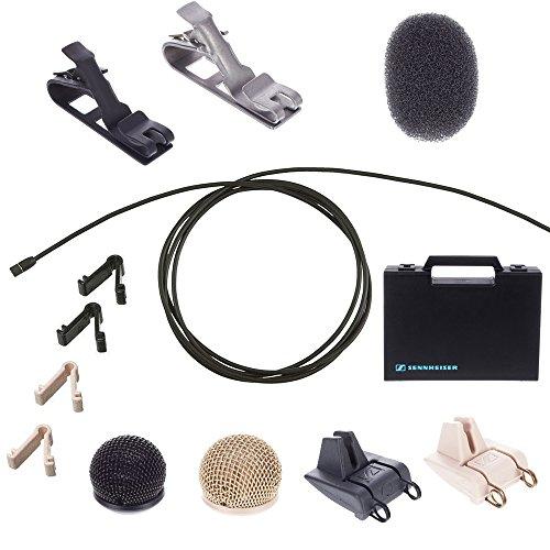 (Sennheiser MKE2-P-K Lavalier Condenser Microphone - MKE2-P KIT)