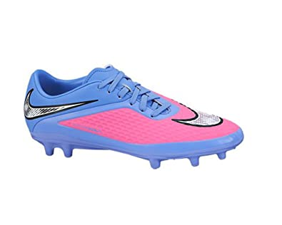 NIKE New Women s Hypervenom Phelon FG Soccer Cleats Pink Pow Polar 6.5 8afb6edb88