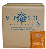 Stash Tea Ginger Breakfast Black Tea Bags, 100-Count Box